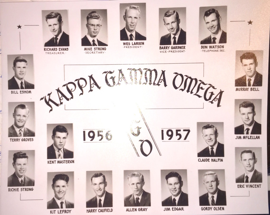 Kappa Gamma Omega - 1956-1957