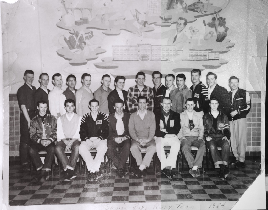 1954 Senior Boy's Rugby Team