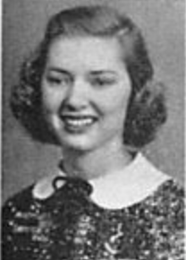 Joyce Wood's Yearbook Photo